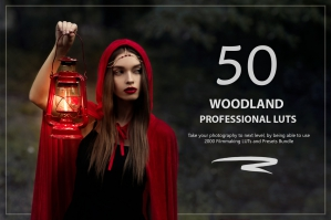 50 Woodland Presets and LUTs Pack