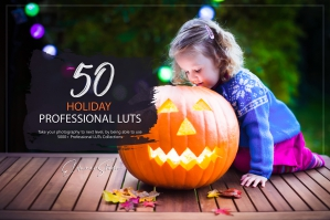 50 Holiday Presets and LUTs Pack