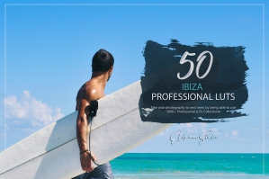 50 Ibiza Presets and LUTs Pack