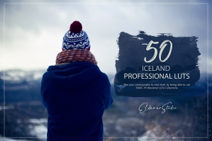 50 Iceland Presets and LUTs Pack
