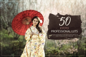 50 Kyoto Presets and LUTs Pack