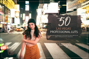 50 Las Vegas Presets and LUTs Pack