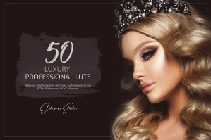 50 Luxury Presets and LUTs Pack
