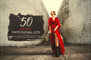 50 Madrid Presets and LUTs Pack