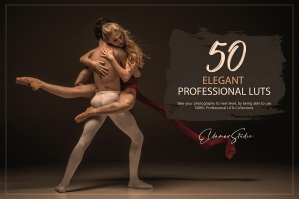 50 Elegant Presets and LUTs Pack