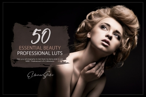 50 Essential Beauty Presets and LUTs Pack