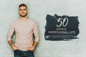 50 Mirage Presets and LUTs Pack