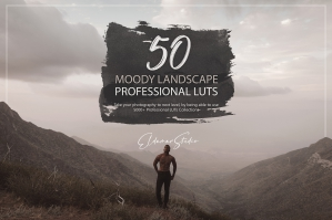 50 Moody Landscape Presets and LUTs Pack