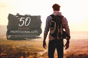 50 Motion Presets and LUTs Pack