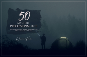 50 Mystery Presets and LUTs Pack