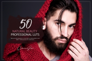50 Natural Beauty Presets and LUTs Pack
