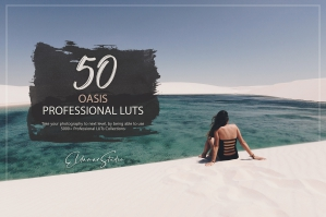 50 Oasis Presets and LUTs Pack