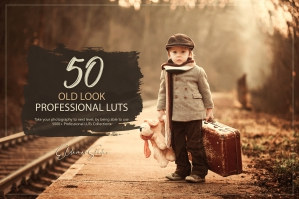 50 Old Look Presets and LUTs Pack