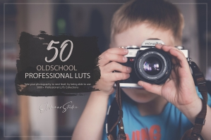 50 Oldschool Presets and LUTs Pack