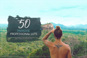 50 Paradise Presets and LUTs Pack