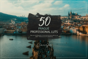 50 Prague Presets and LUTs Pack