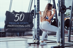 50 Premium Sports Presets and LUTs Pack