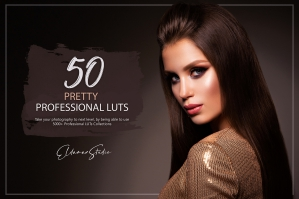 50 Pretty Presets and LUTs Pack