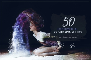 50 Experimental Presets and LUTs Pack