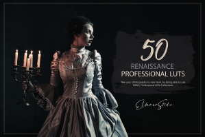 50 Renaissance Presets and LUTs Pack