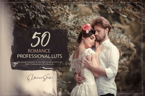 50 Romance Presets and LUTs Pack