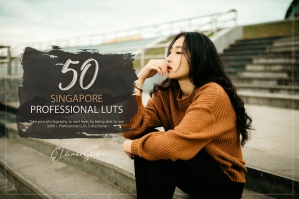 50 Singapore Presets and LUTs Pack