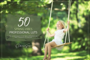 50 Spring Vibes Presets and LUTs Pack