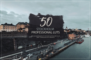 50 Stockholm Presets and LUTs Pack