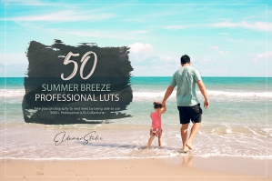 50 Summer Breeze Presets and LUTs Pack
