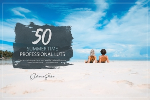 50 Summer Time Presets and LUTs Pack