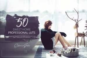 50 Sweet Home Presets and LUTs Pack