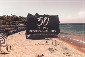 50 Tel Aviv Presets and LUTs Pack