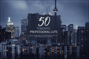 50 Toronto Presets and LUTs Pack