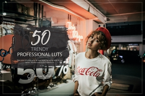 50 Trendy Presets and LUTs Pack