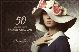 50 Victorian Presets and LUTs Pack