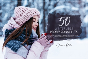 50 Winter Vibes Presets and LUTs Pack