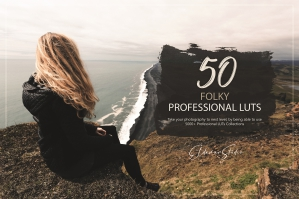 50 Folky Presets and LUTs Pack