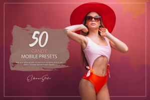 50 Candy Mobile Presets Pack