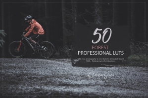 50 Forest Presets and LUTs Pack