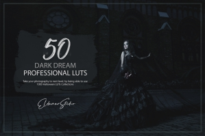 50 Dark Dream LUTs and Presets Pack