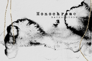 Monochrome Textured Backgrounds