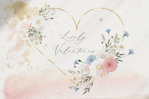 Lovely Valentine's Watercolor