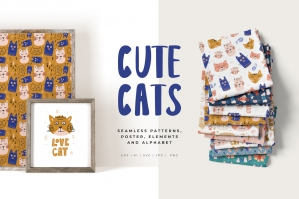 Cute Cats Collection
