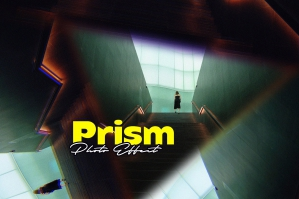 Triangle Prism Photo Effect