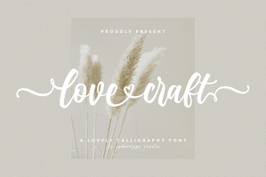 Love Craft - A Lovely Font