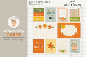 Love Grows Here Cards