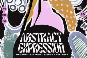80s Abstract Elements & Patterns