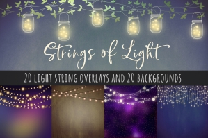 Fairy Lights Clipart and Backgrounds