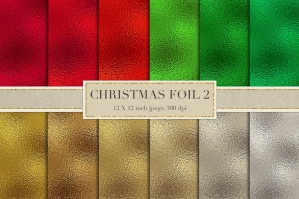 Holiday Foil Textures
