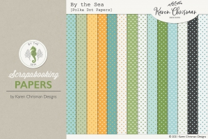By the Sea Polka Dot Papers